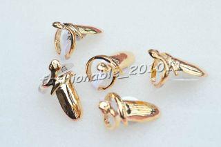 FREE Jewelry Retro Punk Stylish Fingernail Alloy Gold Plated Rings