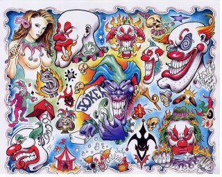 Tattoo flash sheets Over 100,000 line art Color,BlackWhite Full sheets