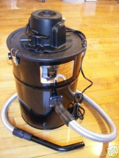 HOT ASH VACUUM for CORN WOOD PELLET STOVE FURNACE