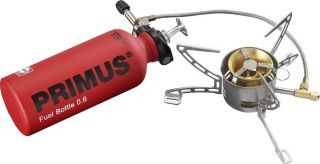 PRIMUS MULTI FUEL EX STOVE W/ WINDSCREEN PORTABLE CAMPING BACKPACKING