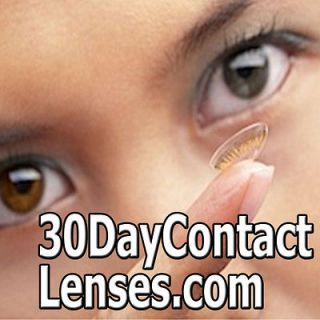 30 Day Contact Lenses EYE CONTACTS/LENS/COLOR/COLORED/CLEAR DOMAIN