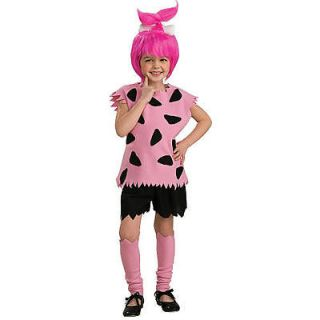 The Flintstones Pebbles Halloween Costume   Child Size Large 12 14