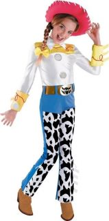 DISNEY TOY STORY JESSIE DELUXE TODDLER CHILD GIRLS COSTUME (3 4T) S(4