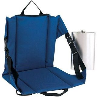 Bleacher Cushion Chair w/ Pocket Flask, Crazy Creek Folding Seat