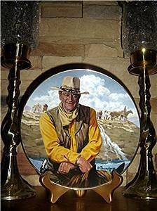 john wayne plates franklin mint in Collector Plates