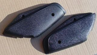 Mopar Bucket Seat Hinge Covers 68 69 A and B Body BLACK