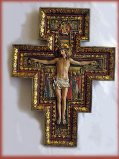 san damiano cross in Crucifixes & Crosses