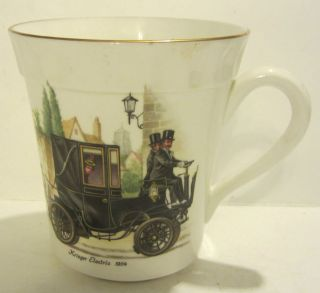 CROWN STAFFORDSHIRE FINE BONE CHINA 1904 KRIEGER ELECTRIC CUP / MUG