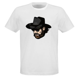 Hank Williams Jr Country Cartoon Head Cool T Shirt