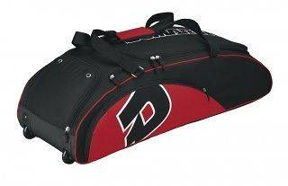 NEW DEMARINI Youth Wheeled Roller Bat Bag On Wheels WTA9417   RED