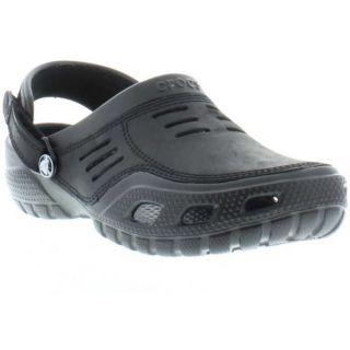 Crocs Shoes Genuine Yukon Sport Mens Shoe Black Sizes UK 7   12