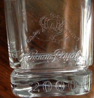 Crown Royal Liquor High Ball Glasses 2000