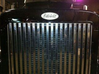 Custom Peterbilt 379 Grille Hood Decal Emblems Truck