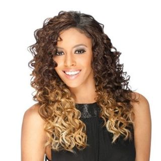 BY FREETRESS EQUAL SYNTHETIC HAIR INVISIBLE PART WIG LONG CURLY STYLE