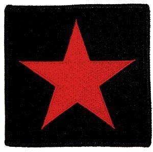 STAR red revolutionary EMBROIDERED PATCH  che guevara **