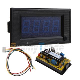 200A DC Digital 3 1/2 Blue LED Combo Panel Amp Meter Volt Meter Shunt