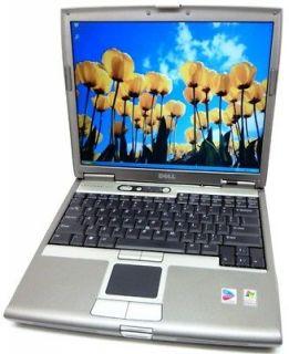 DELL LATITUDE D610 LAPTOP NOTEBOOK PENTIUM M 1.86GHZ 1GB 40GB WIFI
