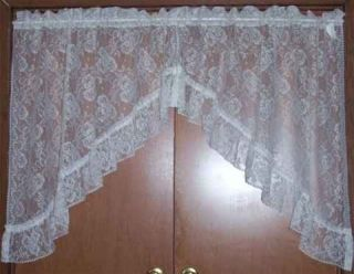 Fishtail curtain swag Window Treatments | Bizrate