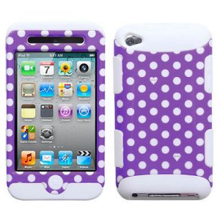 ipod touch 4th generation polka dot case in Cases, Covers & Skins