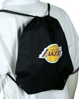 Los Angeles Lakers NBA Nylon Drawstring Lightweight Backpack