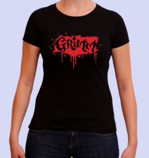 SERIES LADYS FIT T SHIRT. FANTASY/GOTHIC CRIME DRAMA SERIES. SEASON 1