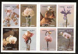 SPAIN Nº 3869/76 3869/6 2002 FLORES Flora Pinturas de E Naranjo MHN