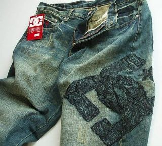 Brand New Dc Shoes Straight Fit Denim mens jean size W38