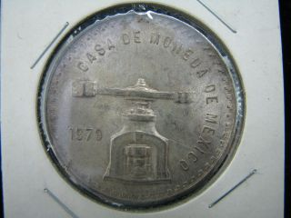 1979 Casa De Moneda De Mexico One Troy Ounce Sterling Silver Coin
