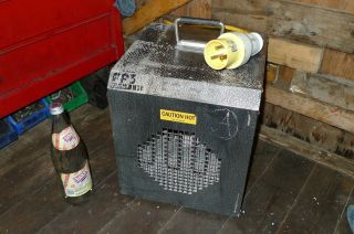 FIRE FLO FIREFLO FF3 ELECTRIC INDUSTRIAL 110 VOLT HEATER WORK SHOP