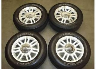 18 Ford F 150 WHEELS Rims TIRES OEM Factory F150 Lariat 4x4