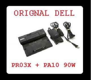 OEM Dell Lat E6410 E6420 E Port EPORT Replicator Docking Station w/ AC