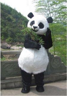New PANDA BEAR Mascot Costume Fancy Party dress dance Cosplay Plush