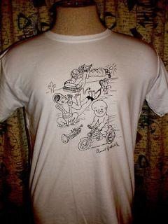daniel johnston t shirt in Clothing,