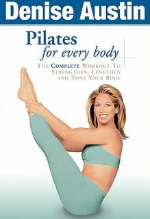 Denise Austin Pilates for Every Body DVD Workout Fitness Exercise Core