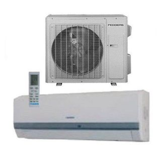 FEDDERS Inverter Mini Split Ductless Heat Pump Air Conditioner 23 SEER