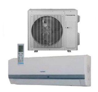 FEDDERS Inverter Mini Split Ductless Heat Pump Air Conditioner 23 SEER
