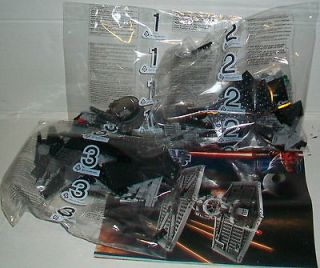 LEGO 2012 Star Wars TIE FIGHTER 9492 No Minifigures No Box NEW