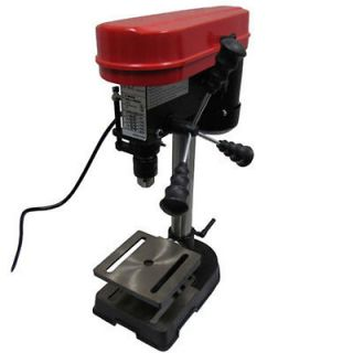 Drill Press Heavy Duty Work Bench 5 Speed Adjustable with Tilting