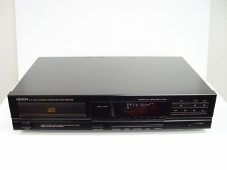 RARE DENON DCD 570 CD DISC PLAYER MADE IN JAPAN 100% WORKING