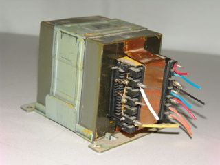 Multi Tap Power Transformer From Denon Power Amplifier Receiver DIY