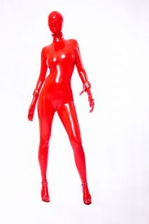 rubber/Catsuit Cosplay Suit/party/Costume/masquerade/Custom sizes/mask
