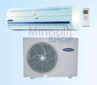 Ductless Mini Split Air Conditioner A/C + Heat Pump Soleus KFTHP 09