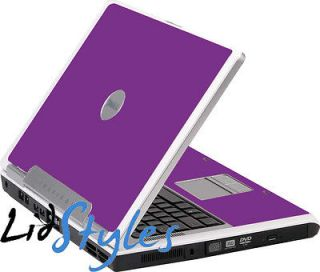LidStyles PURPLE Vinyl Laptop Skin Decal fits Dell Inspiron 6400 E1505