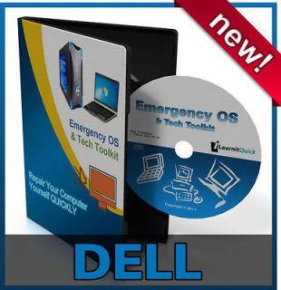 Dell Inspiron Desktop Repair Recovery Drivers Install Restore Rescue
