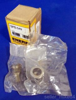 ENERPAC SPD 313 LIGHTWEIGHT HYDRAULIC PUNCH AND DIE SET, 5/16, NEW
