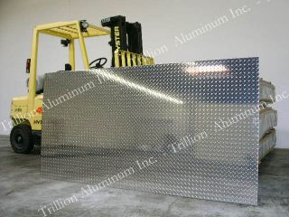 Aluminum Diamond Plate Sheet 1/16   4x8   mirror finish