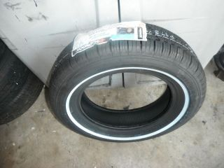 hankook P 175 70 r14 tire new lowrider white wall (NEW)
