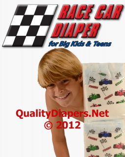 or Small Adult Plastic (vintage Attends style) Disposable Diapers