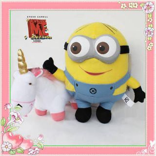 Despicable Me Minions Dave & Unicorn 2X Plush Toy Stuffed Animal 3D