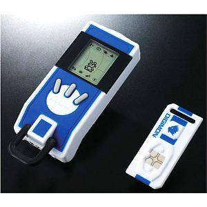 DIGIMON BANDAI Digital Monsters BLUE DIGIVICE iC DATA LINK 10X VERSION